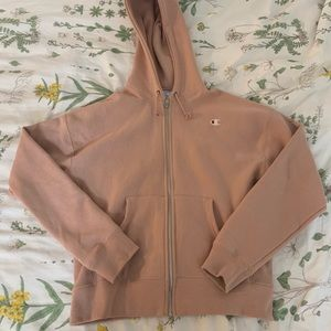 Champion reverse weave zip up hoodie sweatshirt